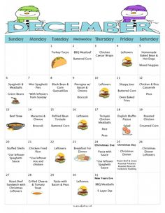 What' For Dinner In December? 31 Days of Kid-Friendly Dinners Including FREE Printable Recipes, Menu Plan and Grocery Lists with A Bonus Christmas Roast Beef Dinner Menu and Grocery List - Mom's Bistro