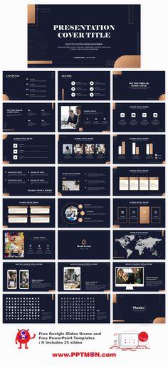 Modern Minimalist Free Presentation Templates – Free Google Slides Theme and PowerPoint Template