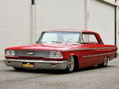 1963 Galaxie XL 500 First car I owned. Paid $400