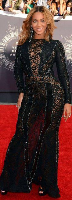 Beyonce Knowles In Nicolas Jebran Couture – 2014 MTV Video Music Awards #VMA
