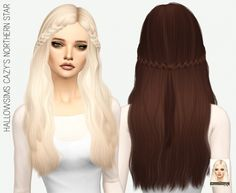 HALLOWSIMS CAZY'S NORTHERN STAR SOLIDS at Miss Paraply via Sims 4 Updates