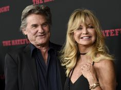Kurt Russell, left, and Goldie Hawn arrive at the Los Angeles premiere of 'The Hateful Eight' at the Cinerama Dome on Monday, Dec. 7, 2015.   Chris Pizzello, Invision/AP