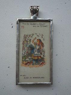 Vintage 1930 Alice in Wonderland Alice by OldeTowneJewelry on Etsy, $60.00
