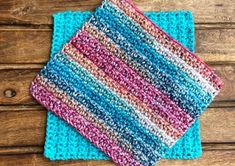This free simple cotton washcloth/dishcloth crochet pattern is a quick and easy crochet project. This is a great beginner friendly crochet pattern. Crochet Dishcloths, Crochet Stitches For Blankets, Crochet Yarn, Free Crochet, Crochet Mandala, Crochet Afghans, Crotchet, Easy Crochet, Cotton Crochet Patterns