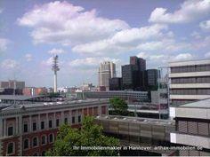 Herrlicher Blick gen Raschplatz Hannover - aufgenommen vom Immobilienmakler in Hannover: arthax-immobilien.de