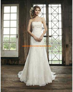 Robe de mariée glamour tulle dentelle