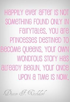 May my princesses live happily ever after starting NOW!