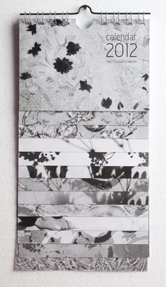 calendar - black and white