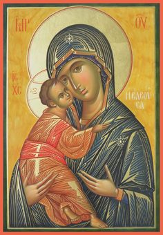 Byzantine Icons, Byzantine Art, Orthodox Christianity, Orthodox Icons, Madonna, Islam, Santa, Artwork, Nun