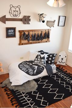Boy toddler Bedroom Set Boy toddler Bedding Sets Sleep Under Stars Monochrome toddler Duvet Cover Kids Bedding Pillow Case Kids Fitted Sheets forter Toddler Bedroom Sets, Toddler Duvet, Toddler Rooms, Kids Bedroom, Toddler Boy Room Ideas, Big Boy Bedrooms, Baby Boy Rooms, Nursery Boy, Rustic Nursery