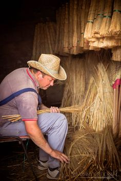 Traditional Broom Making Craft Still Alive in This Village