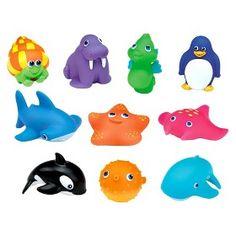 Munchkin Ten Squirtin' Sea Buddies : Target Mobile