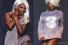 Lil Kim for Iceberg 1999