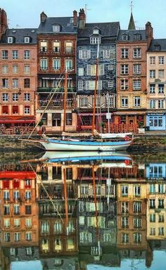 Honfleur Harbor, Normandy, France