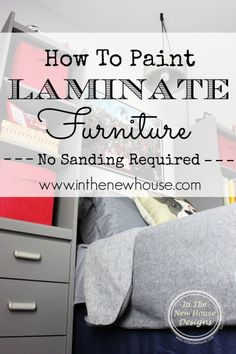 1000 Ideas About Laminate Furniture On Pinterest Painted Laminate Furniture Refinishing