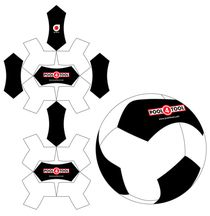 14 panel Fussball 'Boomerang' design Rundes Logo, Soccer Ball, Bean Bags, Sewing, Poppy, Leather, Ideas, Bean Bag Patterns, Couches
