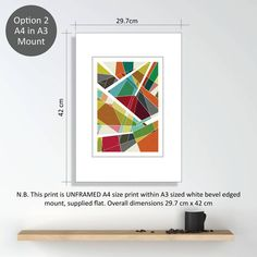 Abstract Geometric No.Three Limited Edition Prints