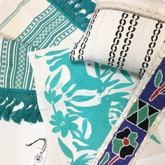 Global Textiles for a Boho Style! Mix and Match for an original look!