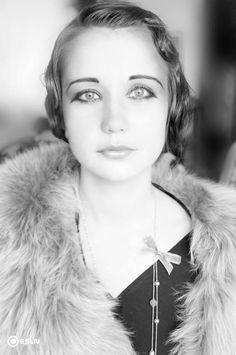 art-deco, belle epoque, lady, vogue, face, make-up, visage, 1920