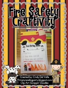 A Fire Safety Craftivity