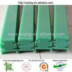 Custom UHMW-PE conveyor sliding guide rail & Mobile plastic road plates/Mobile pavements of composite plates ...