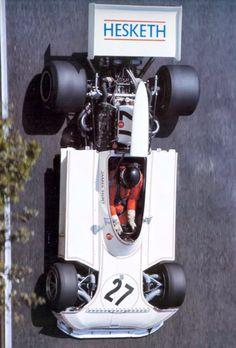 1973 James Hunt. Hesketh-1100 HP!!