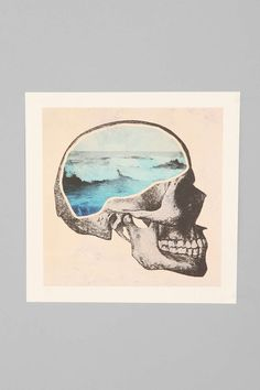 Chase Kunz Brain Waves Art Print - Urban Outfitters