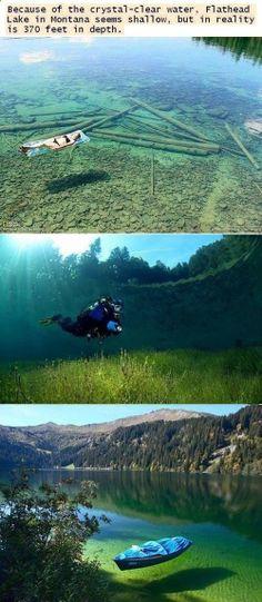 Flathead Lake, Montana USA...