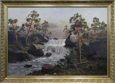 Reidar Steinnes waterfall