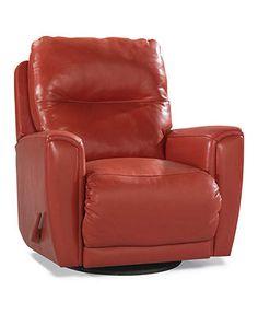Havana Recliner Chair, Swivel Glider - Chairs & Recliners - furniture - Macy's