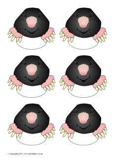 Pupil self-registration moles