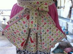 My daughter saw an apron on Pinterest that was used to gather eggs or possibly vegetables or fruits from the garden. Of course once sh...