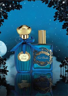 Nuit Etoilée d'Annick Goutal (2012) fresh spicy/woody/aromatic  Perfumer Isabelle Doyen  Contains notes of citron, sweet orange, peppermint, Siberian pine, fir resin, angelica seed, tonka and immortal.