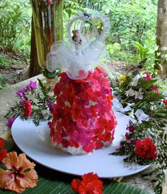 watermelon wedding cake