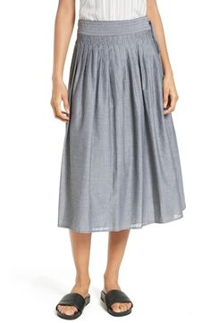 Vince Pinstripe Wrap Skirt available at #Nordstrom