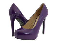 who doesn't need purple patent leather heels?