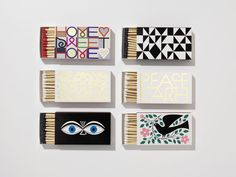 Vitra, Boîtes d'allumettes Alexander Girard, 1967-1972