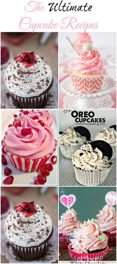Amazing cupcake recipes all in one place! These looks so good.