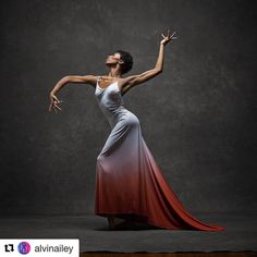 #Repost @alvinailey Photo by @nycdanceproject. #JacquelineGreen #AlvinAiley #InstaAiley #dance #dancerpose
