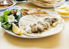 Perfect summer lunch, do-ahead Slow Cooker Greek Gyros