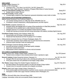 Scannable Resume Sample sample scannable resume Sample Corps Member Resume Httpexampleresumecvorgsample Corps