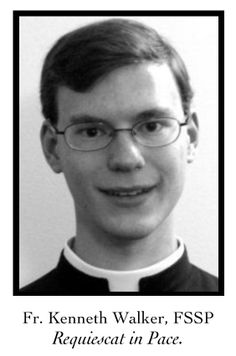 FSSP Priest Killed in Phoenix only 29 years old - Fr. Kenneth Walker - RIP http://jceworld.blogspot.ca/2014/06/fssp-priest-killed-in-rectory-rip-fr.html