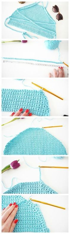 How To Crochet Festival Top DIY   Tutorial   Made Up Style