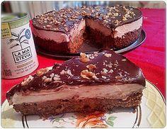 Συνταγές για διαβητικούς και δίαιτα: ΟΛΟΚΛΗΡΟ ΓΕΜΙΣΤΟ ΜΕΛΟΜΑΚΑΡΟΝΟ ΤΟΥΡΤΑ !! Party Desserts, Low Carb Desserts, Diabetic Recipes, How To Stay Healthy, Tiramisu, Sweet Recipes, Sugar Free, Deserts, Sweets