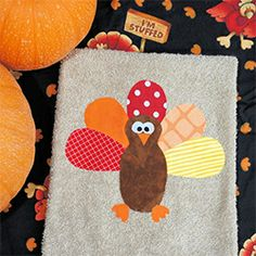 Quick and easy Turkey Towels to dress up your home for the big day!