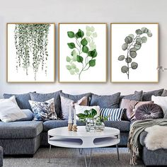 £0.99 GBP - 1318Cm Home Decor European Wall Hanging Picture Art Poster Print Green Plants #ebay #Home & Garden