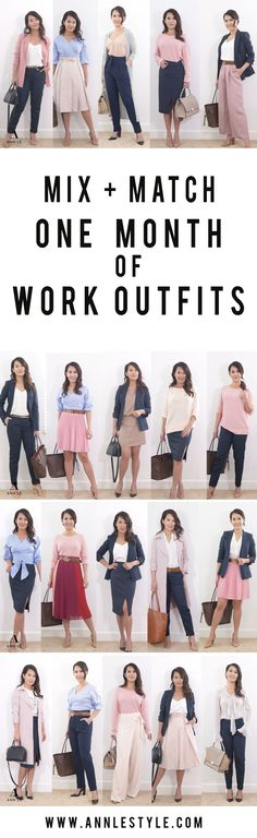 Women's Styles Monthly Work Outfit Ideas Casual Work Outfits, Business Casual Outfits, Mode Outfits, Office Outfits, Work Attire, Work Casual, Office Outfit Summer, Mix Match Outfits, Capsule Outfits