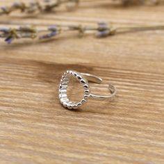 蜜波堤純銀戒指/SR825-BLUMA布瑪小鎮設計師手作銀飾&復古飾品-