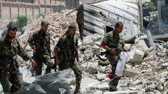 Halepliler Suriye Ordusunun Açtığı Koridor Üzerinden Kentten Kaçıyor