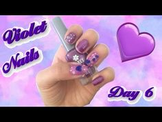 #31 Day Challenge / Day 6 / Violet Nails